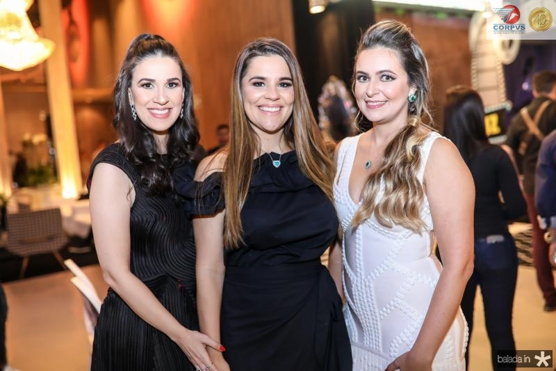 Giuliana Botelho, Ana Paula Domene e Fabiola Fernandes