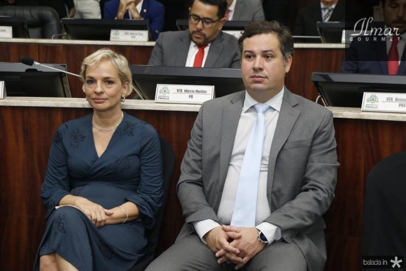 Paola Braga e Samuel Dias