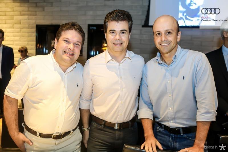 Chico Vale, Duda Brigido e Ricardo Montenegro