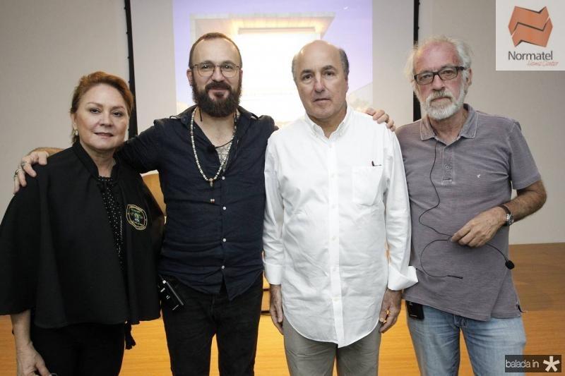 Paula Frota, Andre Liohn, Silvio Frota e Silas de Paula