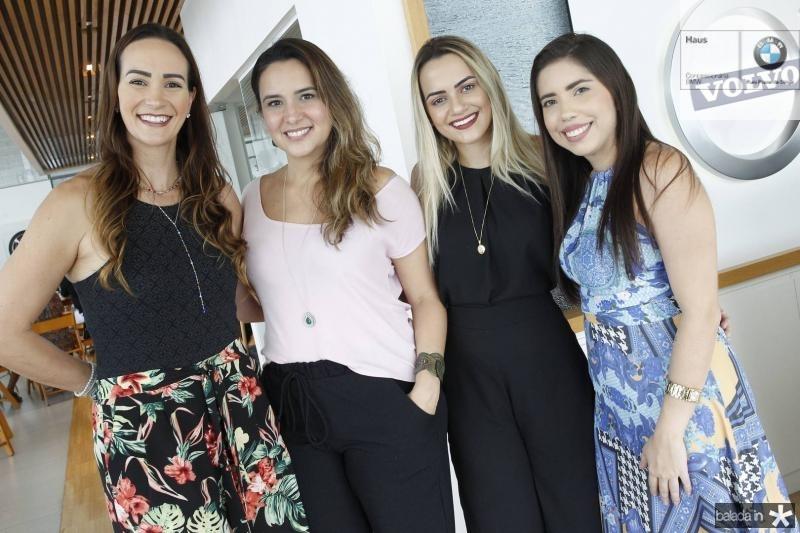 Deyse Terra, Marina Vieira, Beatriz Bezerra e Raynata Fernandes