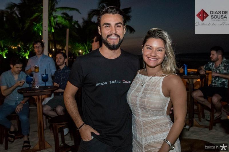 Bruno Calaca e Michele Maia