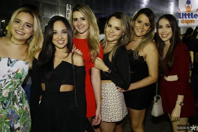 Milena Pires, Catarina Maciel, Jessica Aguiar, Aime Peixoto, Juliana Dias e Lia Viana