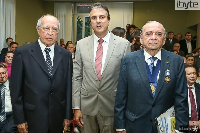 Lucio Alcantara, Camilo Santana e Ednilo Soares