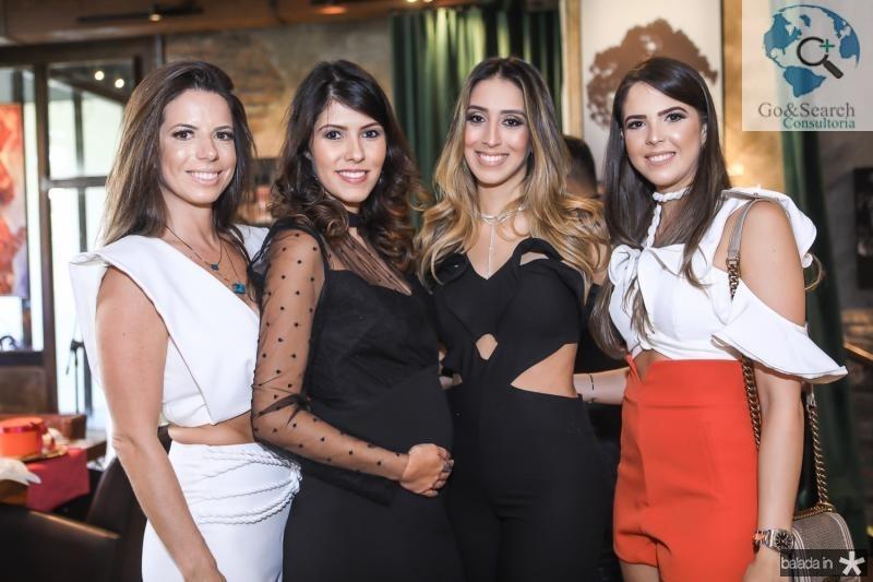 Lina Frank, Flavia Simoes, Natalia Ximenes e Yasmin Magalhaes