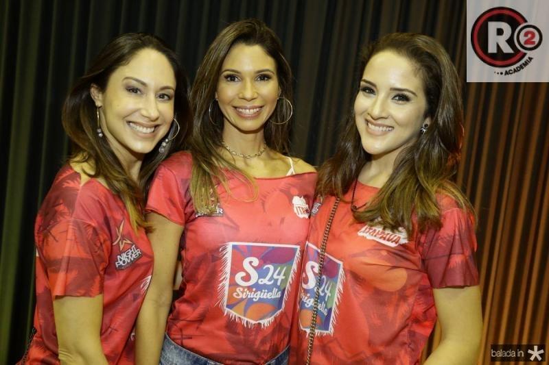 Larissa Coelho, Renata Cabral e Natalia Marques