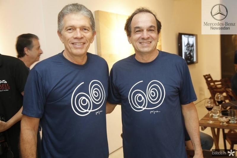 Luiz Regis Bonfim e Fred Pontes