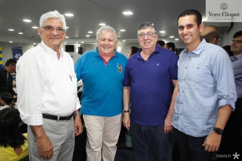 Assis Machado, Carlos Silva, Maia Junior e Domingos Neto