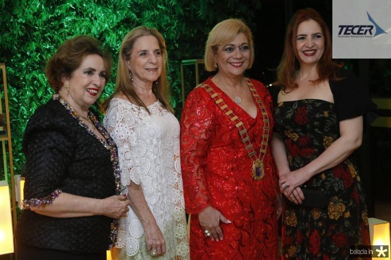 Lena Maria, Anya Ribeiro, Priscila Cavalcante e Enid Camara