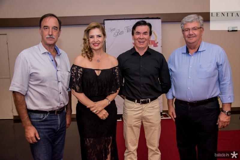Armando Abreu, Enid Camara, Dorival Teixeira e Carlos Maia
