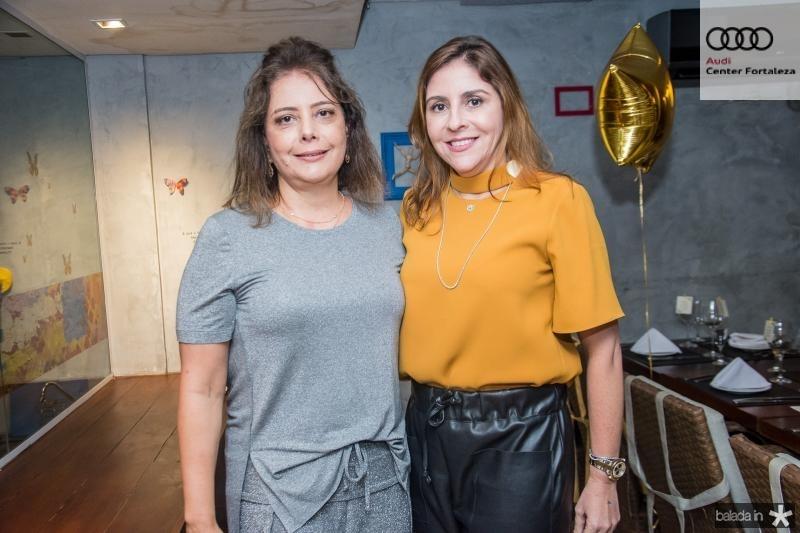 Claudia Gradvohl e Cristiane Faria