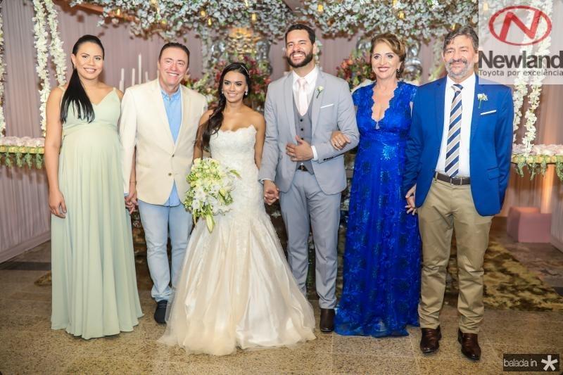 Ana e Darlan Leite, Veruska, Tiago, Canceiçao e Vieira Lobo