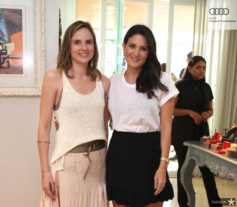 Ana Fiuza e Aline Pinho