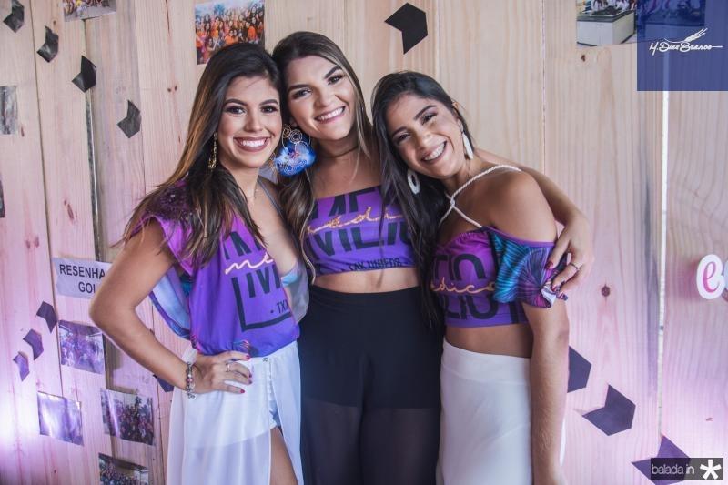 Vitoria Benigno, Ana Luiza Saldanha e Bruna Praxedes