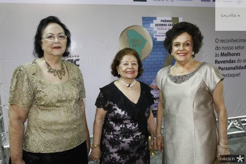 Julia Lima, Maria do Carmo Almeida e Constanca Tavora