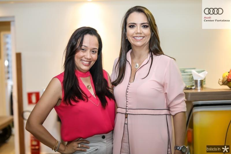 Roberta Fontenele e Daniela Medeiros