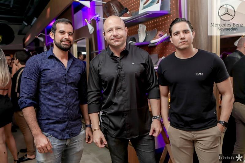 Rafael Facundo, Gostosinho Rebouças e Diego Lima