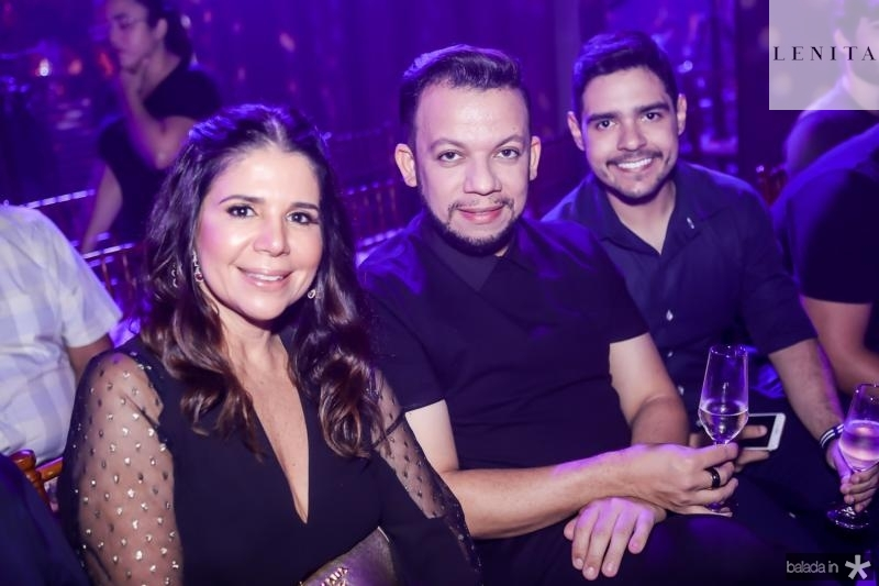 Maria Lucia Negrao, Roberto Alves e Bruno Mesquita