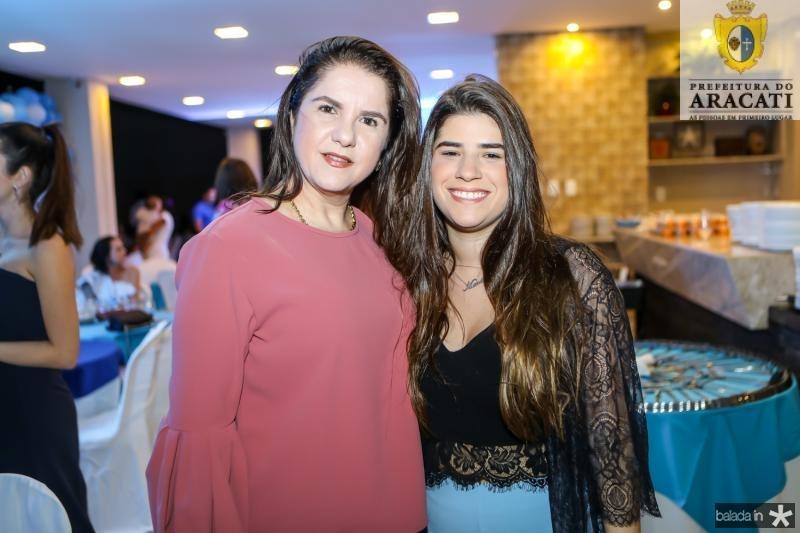 Isabel e Manoela Ary