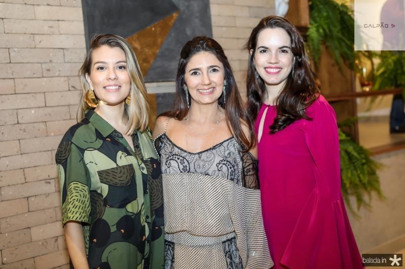 Raina Huland, Luciana Cidrao e Roberta Aguiar