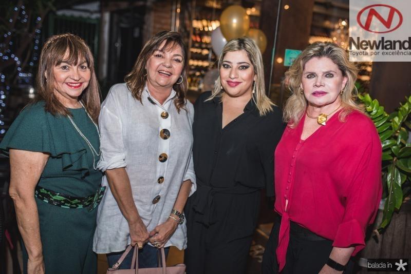 Carmen Cinira, Ana Lurdes Almeida, Manu e Sandra Romcy