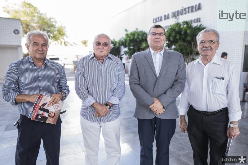 Odmar Alcantara, Chico Barreto, Coronel Duarte Frota e Raimundo Viana