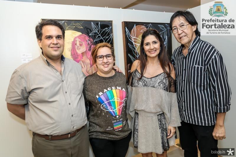 Tulio Paracampos, Azuhli, Luciana Cidrao e Eduardo Penland