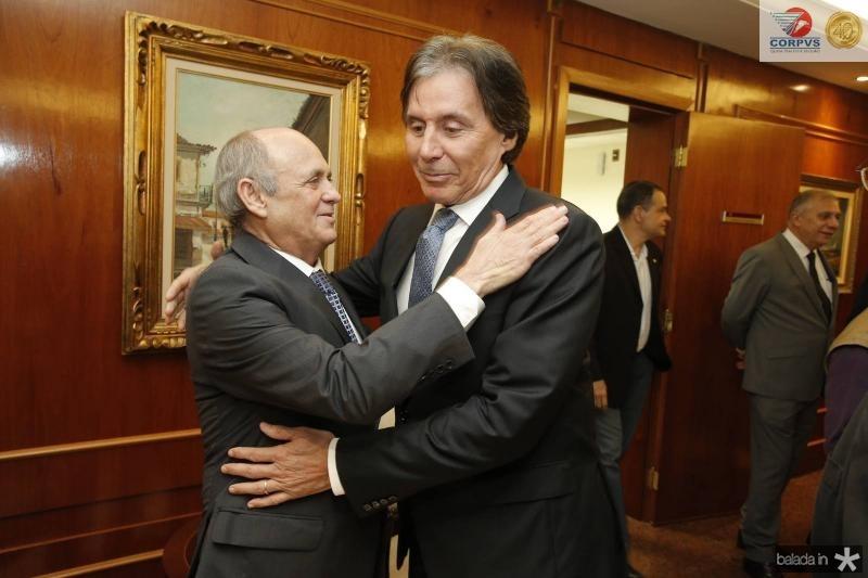 Gladson Pontes e Eunicio Oliveira