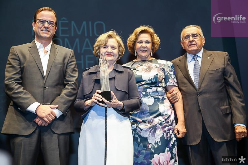 Jean Franco, Auxiliadora Paes Mendonça, Anamaria Cavalcante e Joao Carlos Paes Mendonça