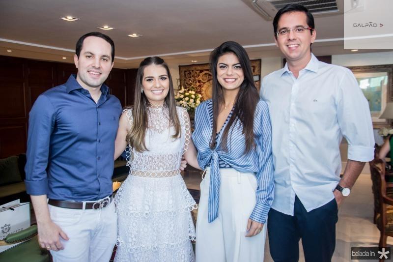 Tomas Moraes, Manuela Câmara, Andressa Vasconcelos e Elsson Demetrio