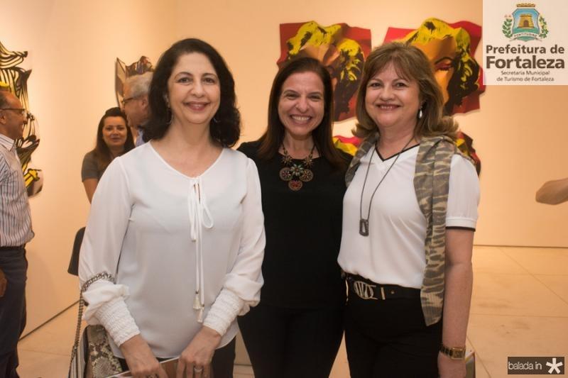 Ana Maia, Melissa Dallolio e Sandra Biana