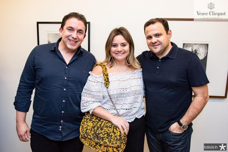 Rodrigo Pereira, Karla Rodrigues e Leandro Albuquerque