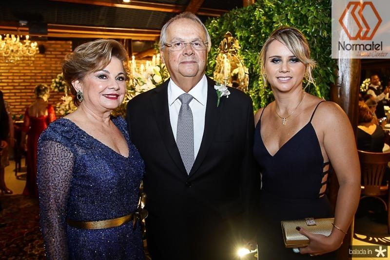 Marcia Medeiros, Helio e Ingrid Galisa