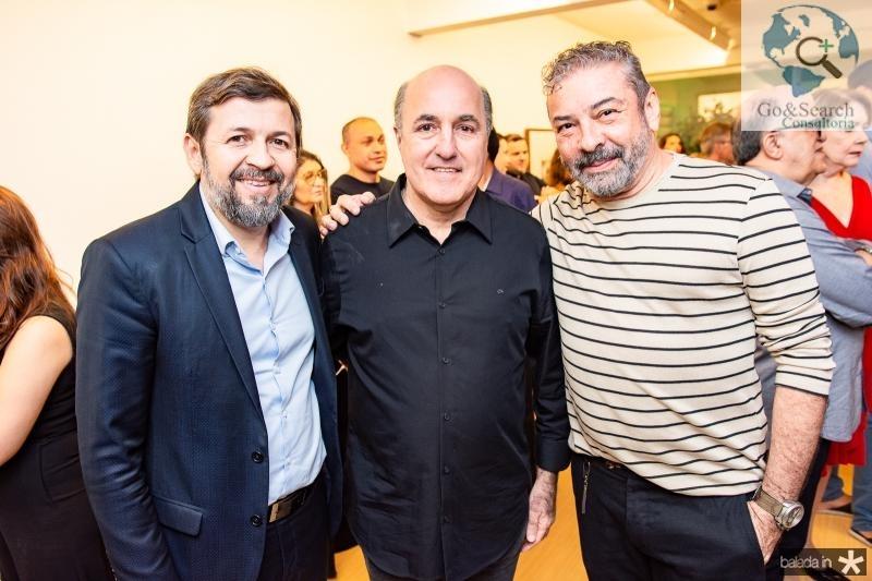 Elcio Batista,  Silvio Frota e Claudio Silveira