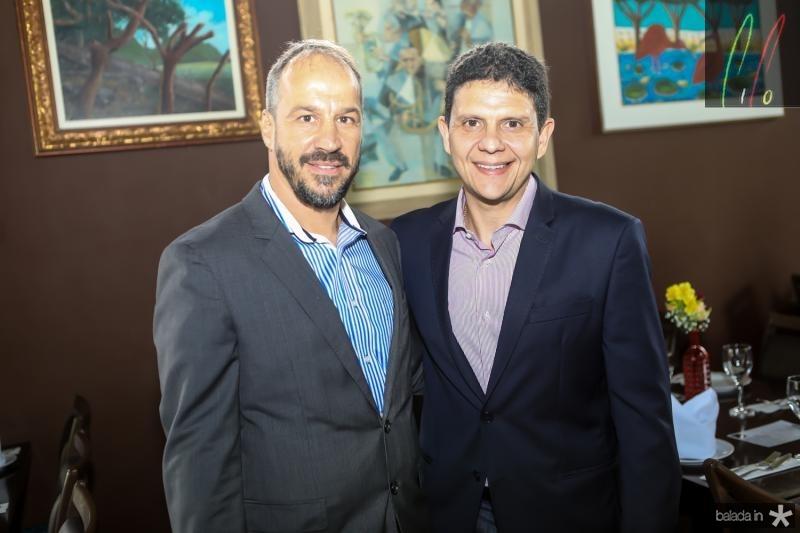 Carlo Moratelli e Anderson Rocha
