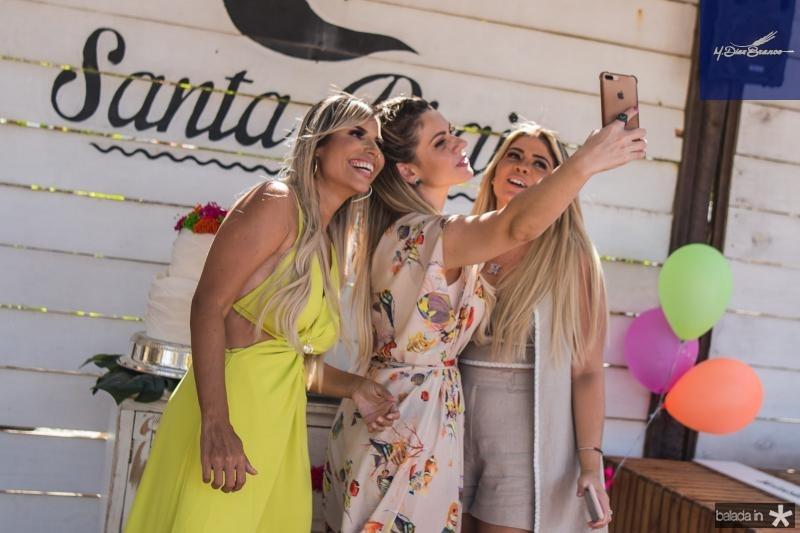 Grazi Nogueira, Luana Souto e Retana Rocha