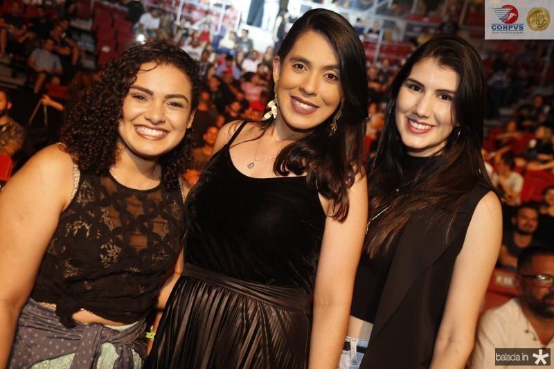 Marissa Tavares, Kelly Aguiar e Carol Carvalho