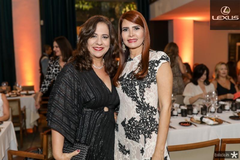 Martinha Assunçao e Lorena Pouchain