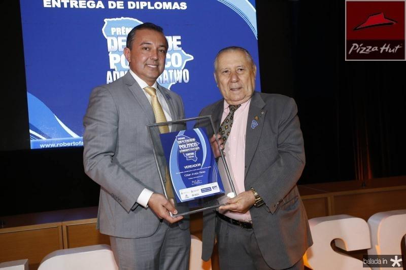 Cesar Veras e Idalmir Feitosa