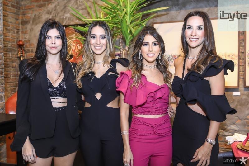 Milena Munhoz, Natalia Ximenes, Taira Romcy e Marcela Carvalho