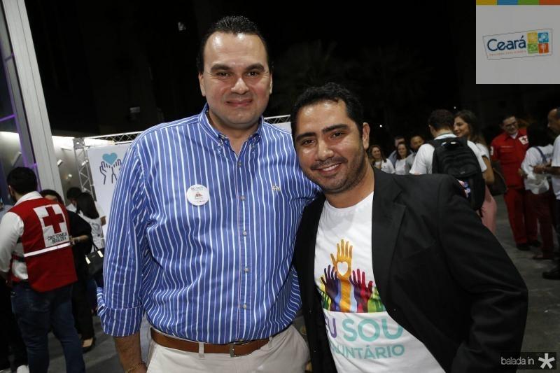 Regis Tavares e Alanderson Mongueira
