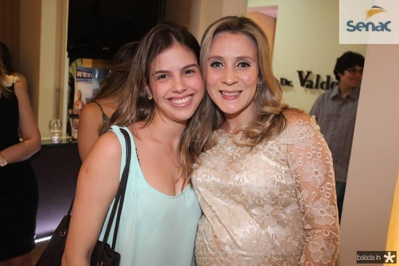 Priscila Esteves e Olga Saraiva