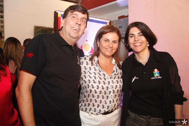 João Mendonça,Islane Verçosa e Isabel Figueiredo