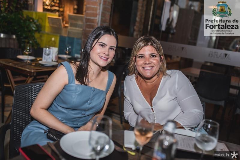 Camile Quintão e Gisele Vieira