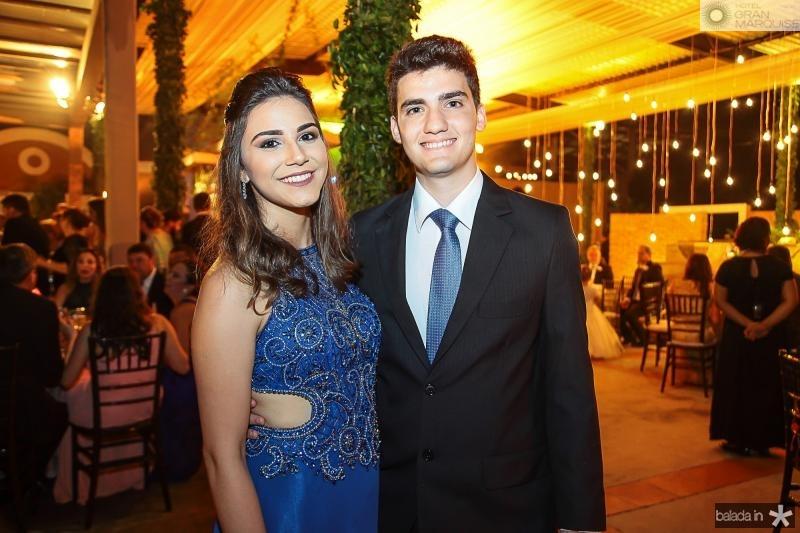 Adriane Feitosa e Leivanio Ponte