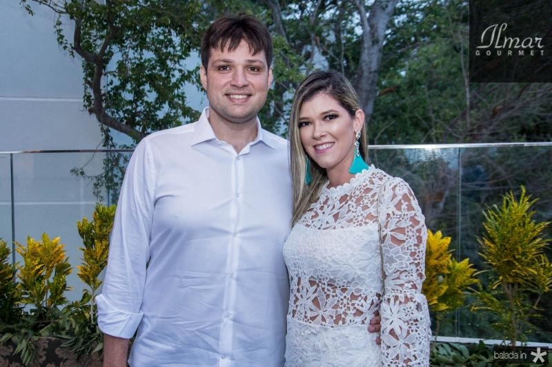 Vinicius Linhares e Ines Gurgel