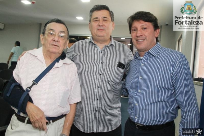 Pedro Casimiro, Vilemar Ferreira e Stelio Frota
