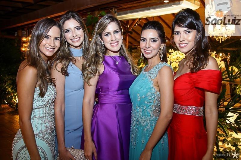 Karina Brasil, Consuelo Feitosa, Paula Brasil, Carla Laprovitera e Falvia Simoes