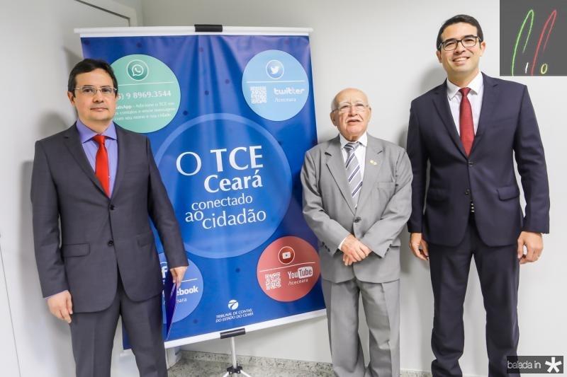 Edilberto Pontes, Ubiratan Aguiar e Rholden Botelho