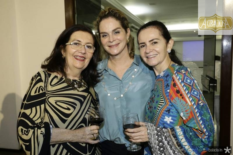 Helena Cavalcante, Jaqueline Mota e Marcia Cavalcante